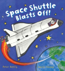 Busy Wheels: Space Shuttle Blasts off, Hardback Book