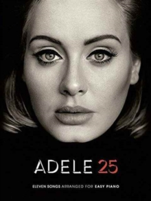 Adele : 25 (Easy Piano), Paperback Book