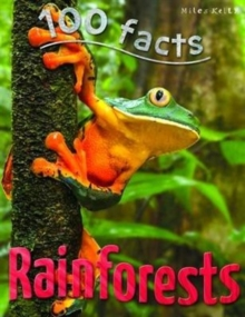 100 Facts Rainforests, Paperback Book