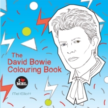 The David Bowie Colouring Book, Paperback Book