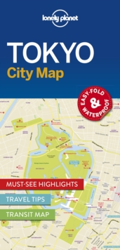 Lonely Planet Tokyo City Map, Sheet map Book