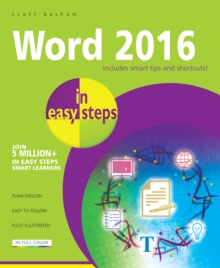 Word 2016 in Easy Steps, Paperback Book