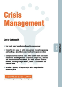 Crisis Management, Paperback Book