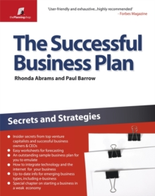 The Successful Business Plan : Secrets and Strategies, Paperback Book