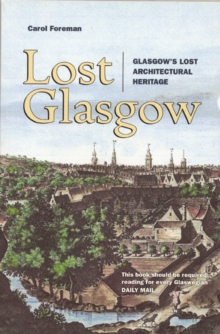 Lost Glasgow, Paperback Book