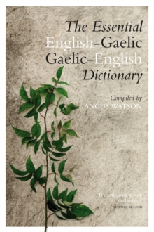 Essential English-Gaelic/Gaelic-English Dictionary, Hardback Book