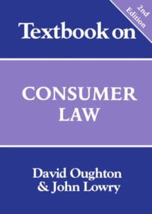 Textbook on Consumer Law, Paperback Book