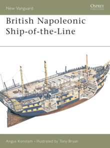 British Napoleonic Ship-of-the-line, Paperback Book