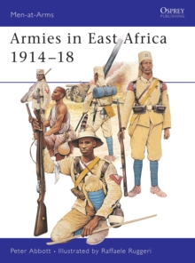 Armies in East Africa 1914-1918, Paperback Book