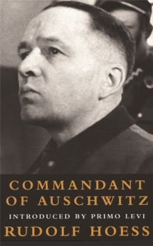 Commandant of Auschwitz, Paperback Book