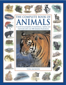 The Complete Book of Animals : A World Encyclopedia of Amphibians, Reptiles and Mammals with Over 500 Detailed Illustrations, Paperback Book