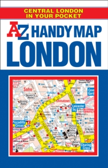 Handy Map of Central London, Paperback Book