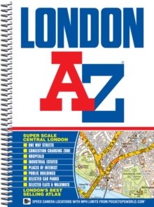 London Street Atlas, Spiral bound Book