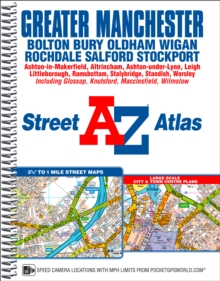Greater Manchester Street Atlas, Spiral bound Book