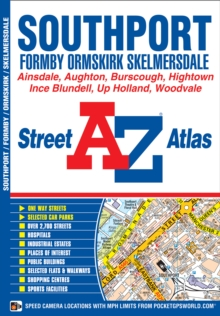 Southport Street Atlas, Paperback Book