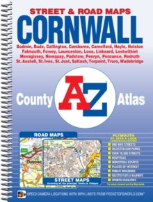Cornwall County Atlas, Spiral bound Book