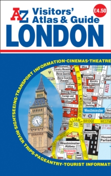 London Visitors Atlas & Guide, Paperback Book