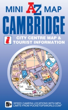 Cambridge Mini Map, Sheet map, folded Book