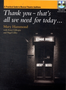 THANK YOU THATS ALL WE NEED FOR TODAY, Paperback Book