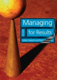 Managing for Results, Paperback Book