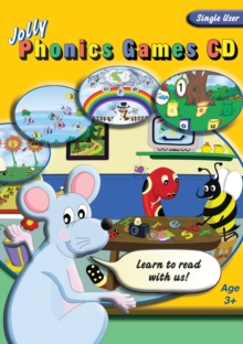 Jolly Phonics Games CD (single user), CD-ROM Book