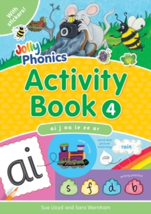 Jolly Phonics Activity Book 4 : in Precursive Letters (BE), Paperback Book