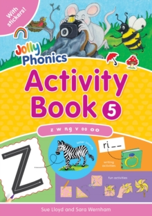 Jolly Phonics Activity Book 5 : in Precursive Letters (BE), Paperback Book