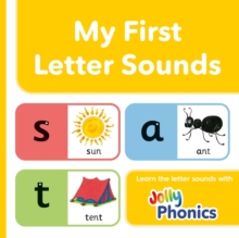 My First Letter Sounds : In Precursive Letters (BE), Board book Book