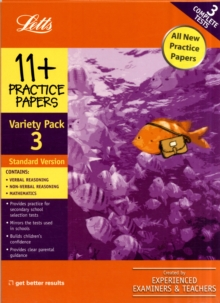Standard Variety Pack 3 : Practice Test Papers, Other book format Book
