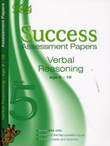 Verbal Reasoning Age 9-10 : Assessment Papers, Paperback Book
