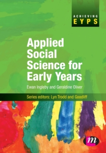 Applied Social Science for Early Years, Paperback Book