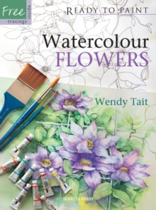 Watercolour Flowers, Paperback Book