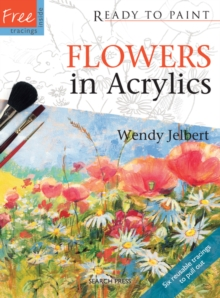 Flowers in Acrylics, Paperback Book