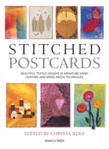 Stitched Postcards, Paperback Book