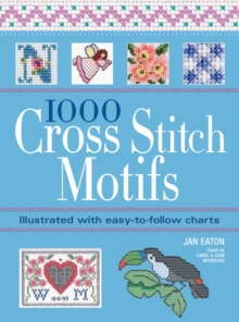 1000 Cross Stitch Motifs, Paperback Book