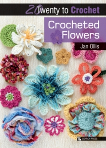 Crocheted Flowers, Paperback Book