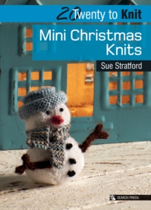Mini Christmas Knits, Paperback Book