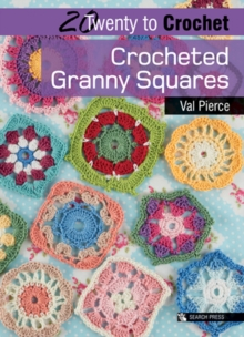 Crocheted Granny Squares, Paperback Book