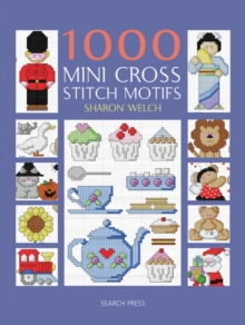 1000 Mini Cross Stitch Motifs, Paperback Book