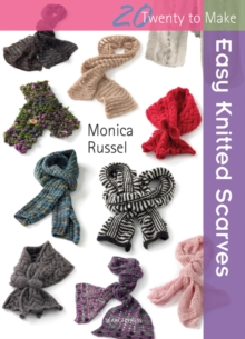 Easy Knitted Scarves, Paperback Book