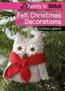 Felt Christmas Decorations, Paperback Book