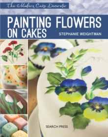 Painting Flowers on Cakes, Paperback Book