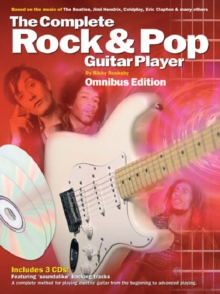 Complete Rock And Pop Guitar Player Omnibus Edition (Book And 3CDs), Paperback Book