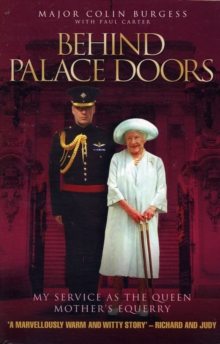 Behind Palace Doors, Paperback Book
