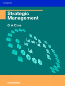 Strategic Management, Paperback Book