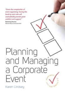 Planning and Managing a Corporate Event, Paperback Book