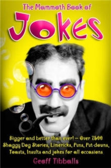 The Mammoth Book of Jokes, Paperback Book
