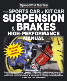 How to Build and Modify Sportscar and Kitcar Suspension and Brakes : For Road and Track, Paperback Book