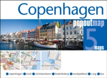 Copenhagen PopOut Map, Sheet map, folded Book