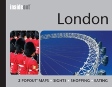 Insideout: London Travel Guide : Pocket Size London Travel Guide with Two Pop-up Maps, Hardback Book